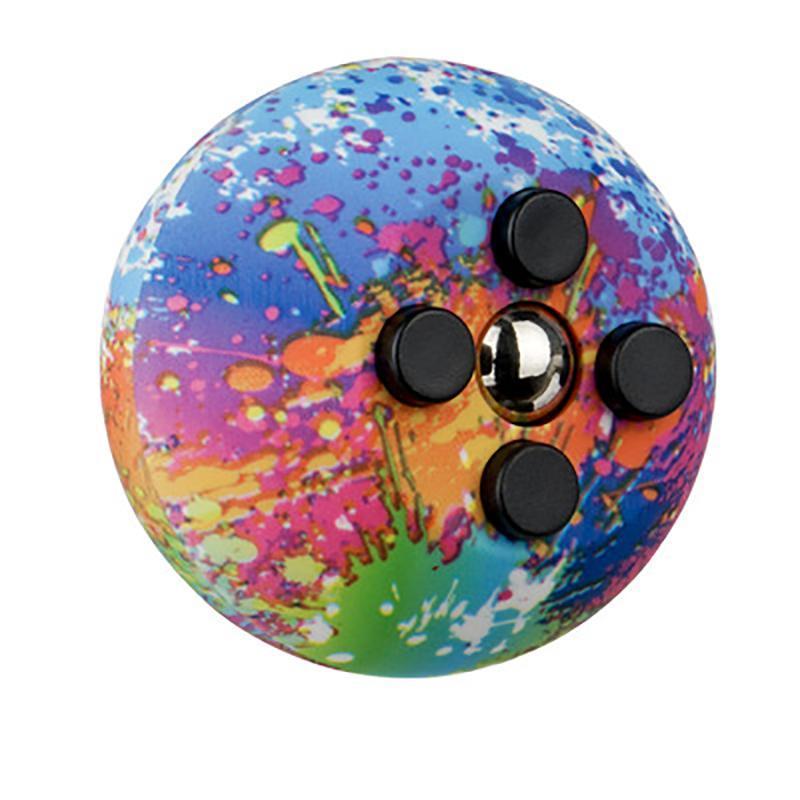 Fidget Finger Brinquedo Jogo Game Games Handles Bola Arco-íris Bolas Puzzle Crianças Adult Denompression Brinquedos Para Crianças Presente GWB9479