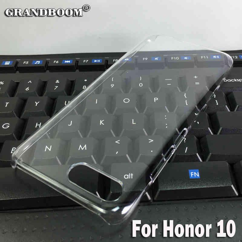 10pcs Transparent Hard Plastic Ultra Thin Case For Huawei Honor V10 V9 9i Lite 7A 7C Clear Slim Shockproof Shell Back Cover