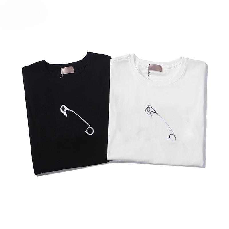 2021 Ins Sıcak Yaz Erkek Bayan T Shirt Yeni Essentials 3D Silikon Tees Kaykay Tasarımcılar Sis Tanrı Korkuları Kısa Kollu Rahat Tişörtleri