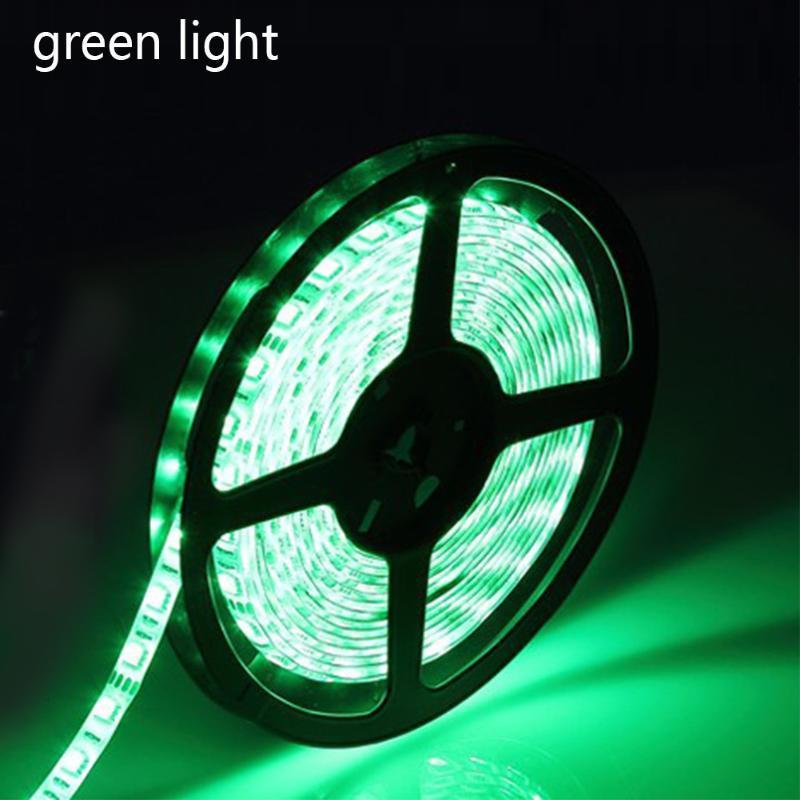 Esnek 5 Metre ile Işık Su Geçirmez Düşük Gerilim 12 V Parlak 60 Lamba Boncuk Epoksi Yumuşak Bar LED Şeritler
