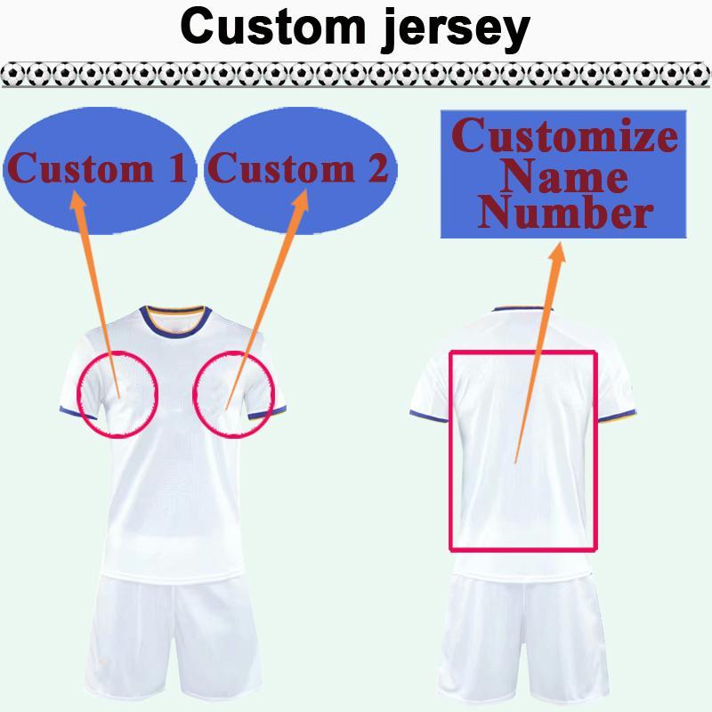 Custom National Team Club Hommes Soccer Jersey Kit Vous pouvez personnaliser le nom et le nombre de chemises de football design telles que 37 XIAN