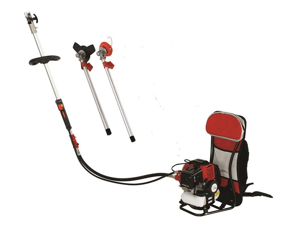New Model Garden Trimmers 2 stroke Engine 52CC Knap Pack Brush Cutter,Grass Cutting Tool,Whipper Sniper with Metal Blades,Nylon Heads