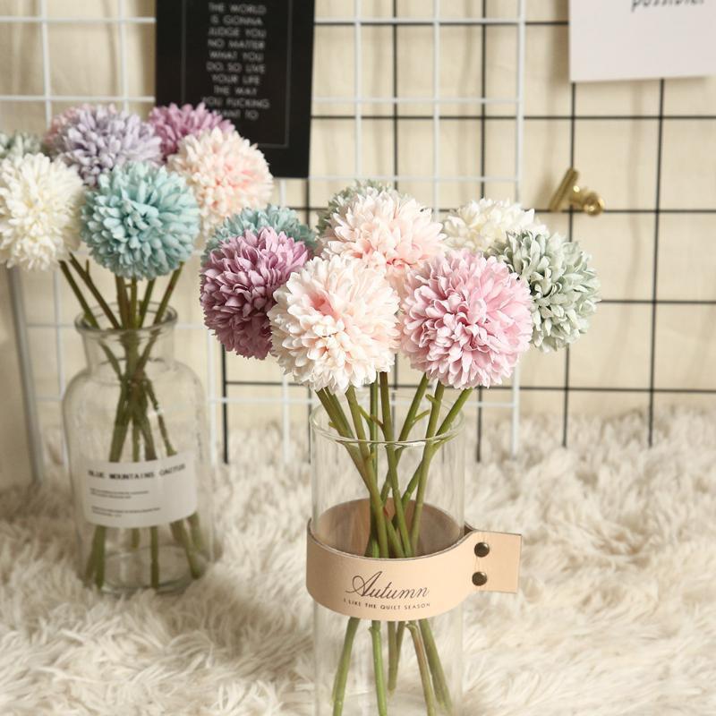 Multicolore artificiel faux plastique pivoine plante fleurs maison jardin décor de mariage plantas artificiels couronnes décoratives