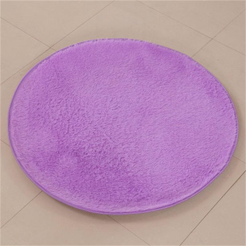 Atacado-novo Qualificado Soft Bath Bedroom Chuveiro Duche Round tapete antiderrapante DIG633 363 R2