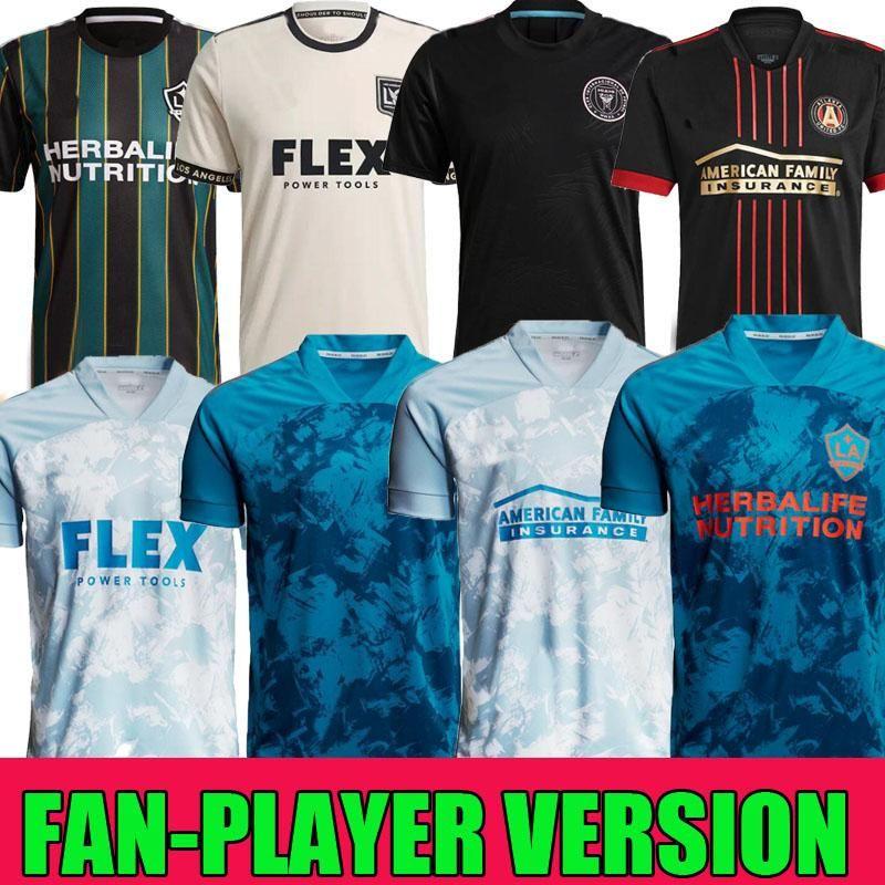 MLS 2021 Parley Primeblue Kit Inter Miami CF Jersey 2022 Los Angeles La Galaxy 21 22 Higuain Beckham Atlanta United LaFC Prep
