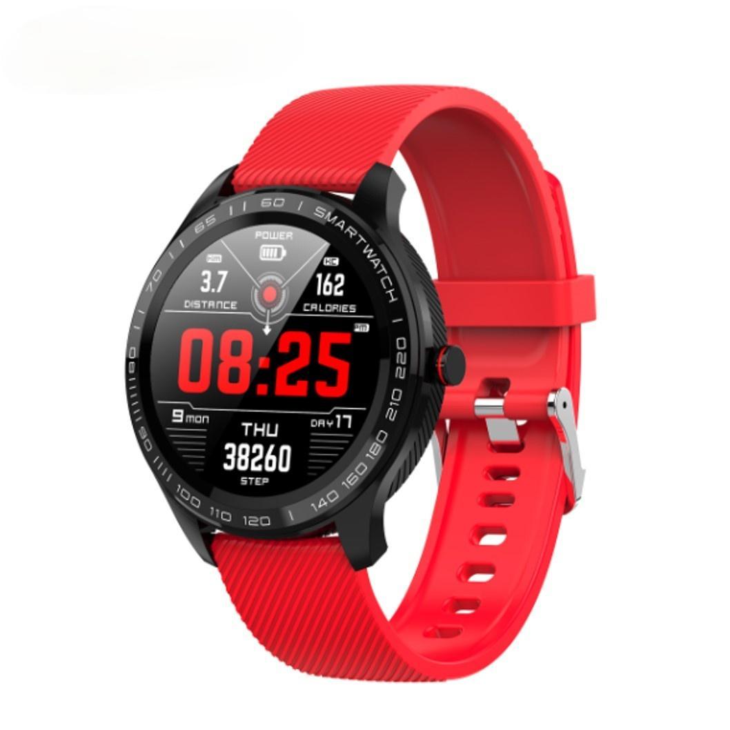 Slimy L9 ECG + PPG Smart Uhr Blutdruck Sauerstoff IP68 Wasserdichte Smartwatch Herzfrequenz Armbanduhr Anrufnachricht Erinnerung