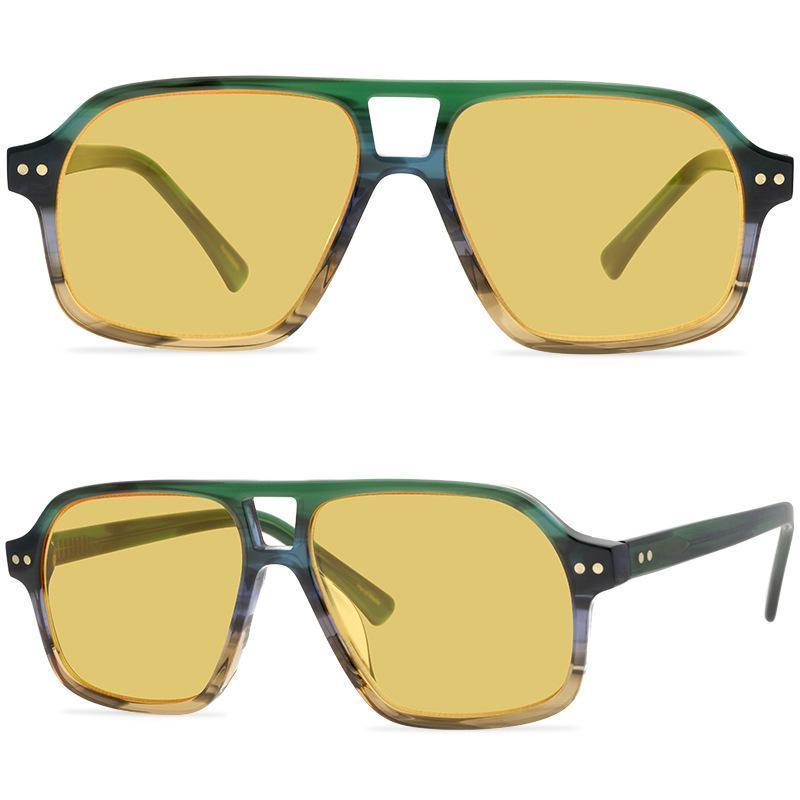 Ashi di moda Sunglasses Cool Men's Uomo e Donne Lenti di nylon Le stelle vanno a fare shopping con lo stesso paragrafo per gli uomini