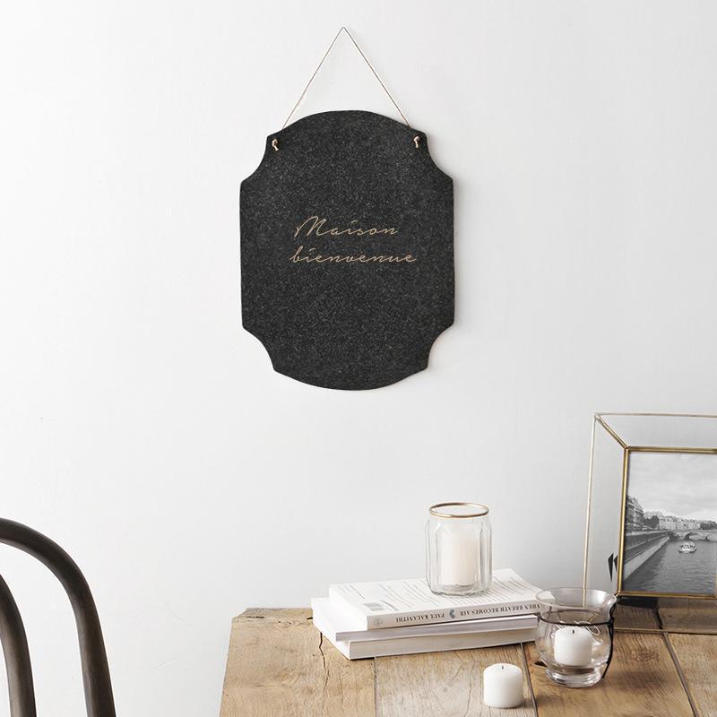 قماش المنزل أزياء ديكور ديكور قلادة شنقا جدار الباب مدخل غرفة القهوة نسيج شخصية الإبداعية الحلي الشمال