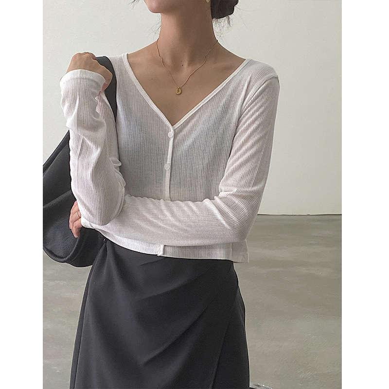 Günlük Elbiseler MissLan Kısa V Yaka Aşağı-up Moda kadın Uzun Kollu Göbek Maruz Slim Fit