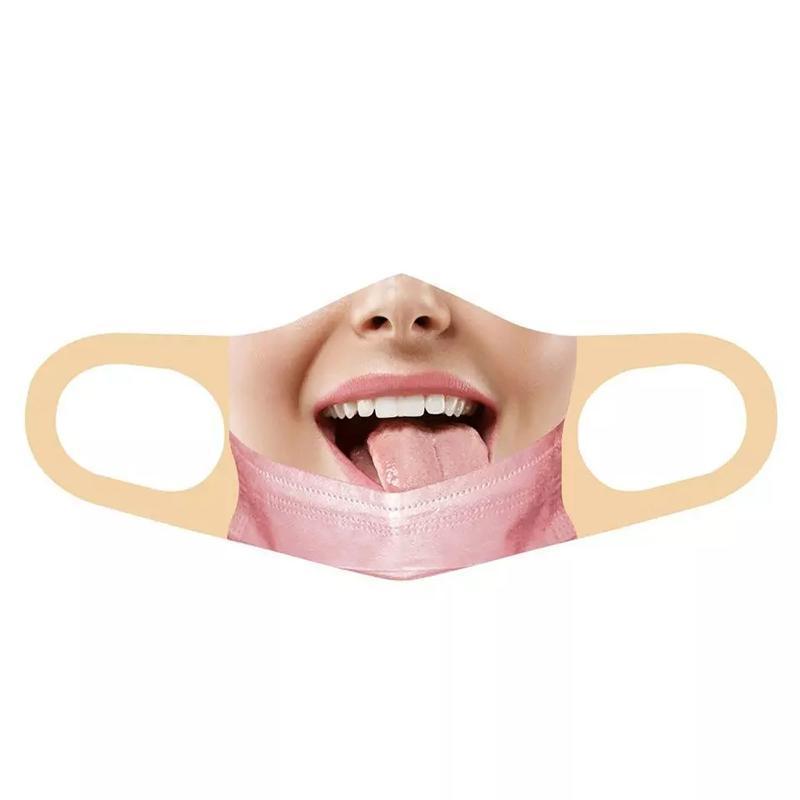 آخر الحدث حزب اللوازم الكبار في الهواء الطلق قناع الوجه مسؤر إعادة استخدام الطباعة واقية mascarillas أنيمي هالوين تأثيري مضحك أقنعة الفم
