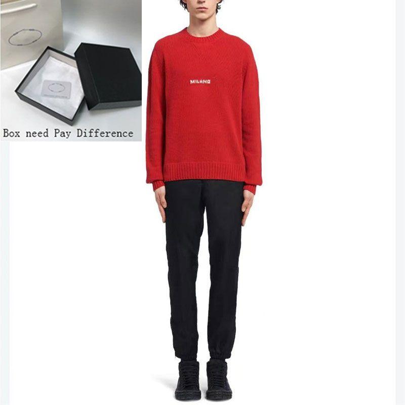 21SA P Stylist Mens Maglione Casual Uomo di alta qualità Maglioni 4 colori Streetwears Gentry Felpa con cappuccio Taglia S-2XL