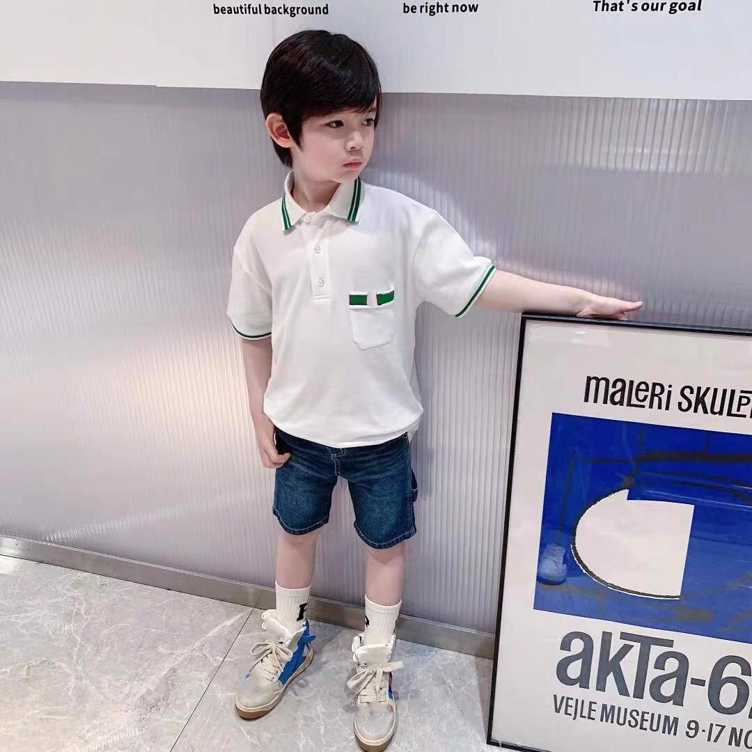 baby Boys Polo Clothes 2021 Summer Kids Boy Short Sleeve Cotton casual T Shirt children Clothing
