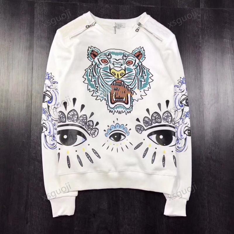 KENZO sweater Homens mulheres casal sportswear (conjuntos de roupas primavera e outono moda praia férias camisa casual desgaste design de design de luxo