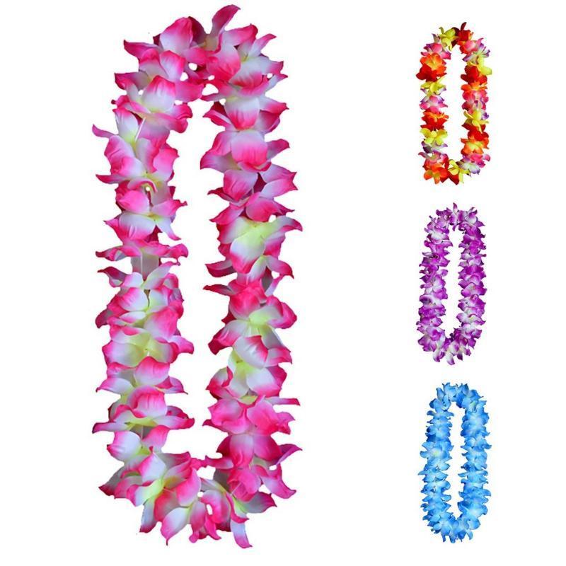 Páscoa Colar Floral Lazer Para Favoritos Favoritos Celebrações e Decorações 2021 Crianças Presente Decorativo Flores Grinaldas