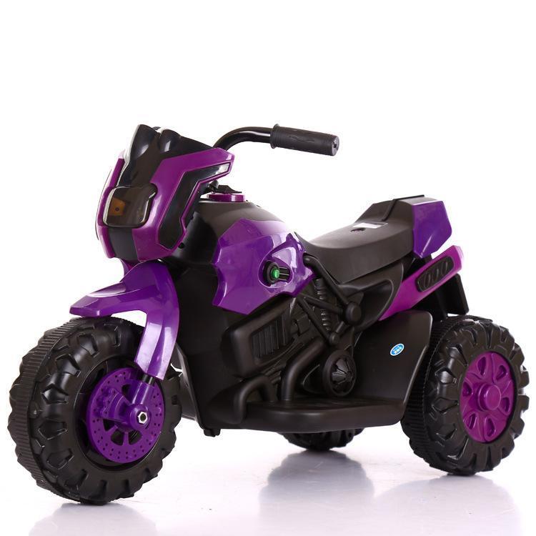 Motocicleta de carregamento de carro de crianças elétricas com três rodas Cool bebê Triciclo para Kid Única unidade 1-6Years Gests Antigos de Velocidade de Motobike