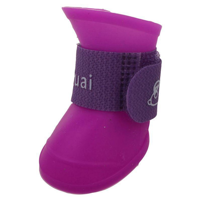 الكلب الملابس أعلى الحيوانات الأليفة الأحذية الجوارب المطاط ماء أحذية المطر