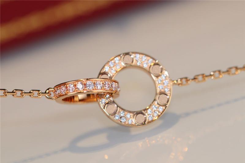 럭셔리 디자이너 목걸이 클래식 서클 디자이너 쥬얼리 패션 여성 목걸이 여성을위한 최고 품질 다이아몬드 목걸이