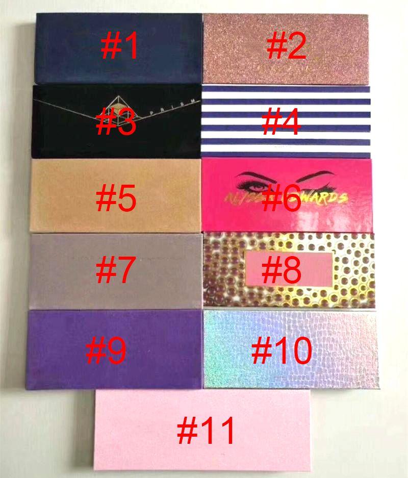 Stokta Makyaj Paleti 14 Renkler Modern Göz Farı Paleti 10styles Sınırlı Göz Farı Paleti Fırçası