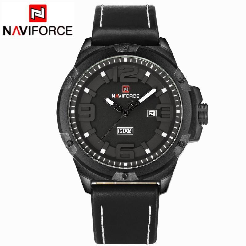 Relojes Hombres Cuarzo Analógico Dial 3D Reloj de cuero Hombre Deportes Ejército Reloj Relogios Saat Wristwatches