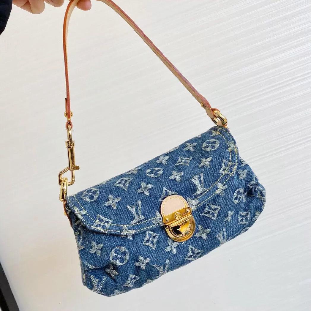 Diseño de bolso de lujo de lujo Bordado de la axila de un hombro de hombro retro bola de masa de bola de masa sosteniendo Vintage Tanninj3XZ