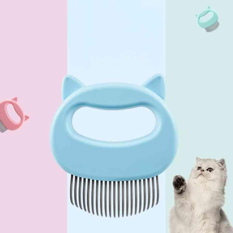 Pet Combs Hair Remover Cat Grooming Tools Dog Massage Comb Brush Remove Loose Shedding Hairs