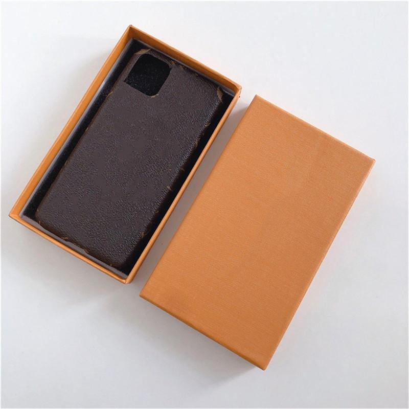 Estuches para teléfono de diseño de moda para iPhone 11 12 13 Pro Max XS XR XSMAX Tapa de calidad superior de cuero con cáscara de cuero duro con samsung Note20 S21 S20 Ultra S10 S9 Plus
