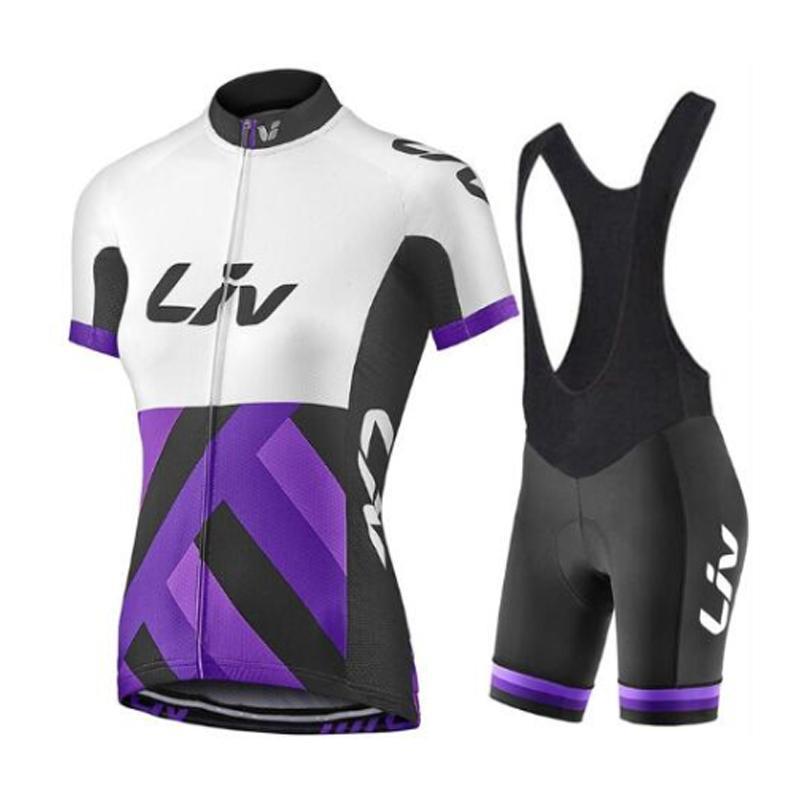 Ciclismo roupas bib gel shorts mulheres bicicleta jersey set esporte terno feminino estrada bicicleta roupas mtb uniforme verão vestido conjuntos de corridas