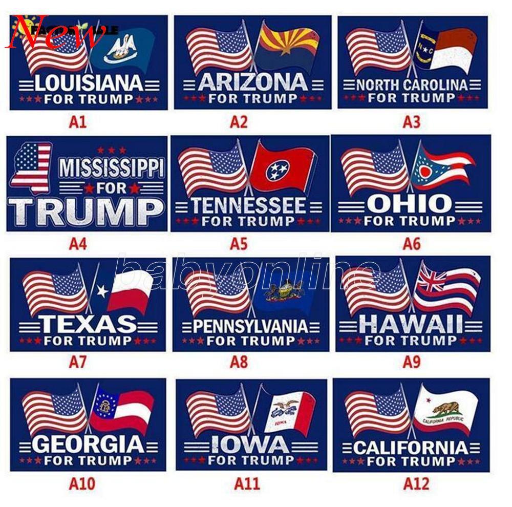Проголосовало на Флаги Дональда Трампа 3x5 FT 2024 Правила изменили флаг с отрозками от втулки Патриотические избирательные украшения баннер 2021 новый