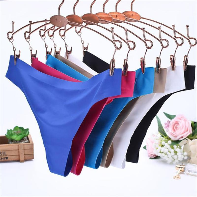 Sexy Brazilian Swimwear Women Invisible Briefs G-String Bikini Beach Underwear Bottom Swimsuit Panties #4M10 Two-piece Suits