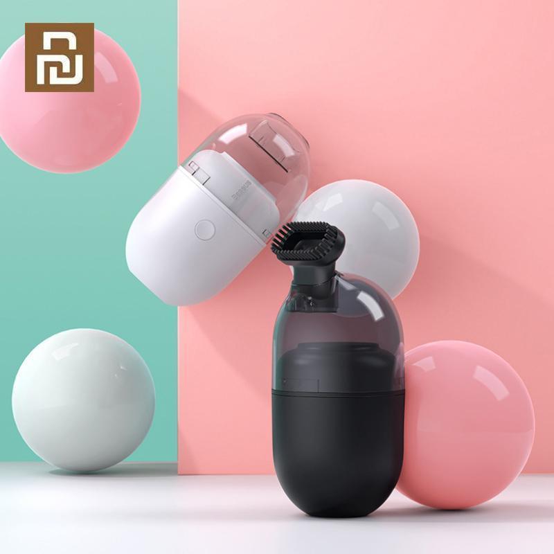 Orijinal Baseus Kablosuz Mini Süpürge Taşınabilir Masaüstü Toz Temizleme Aracı Ev El Araba Vakum Temizleyici Için