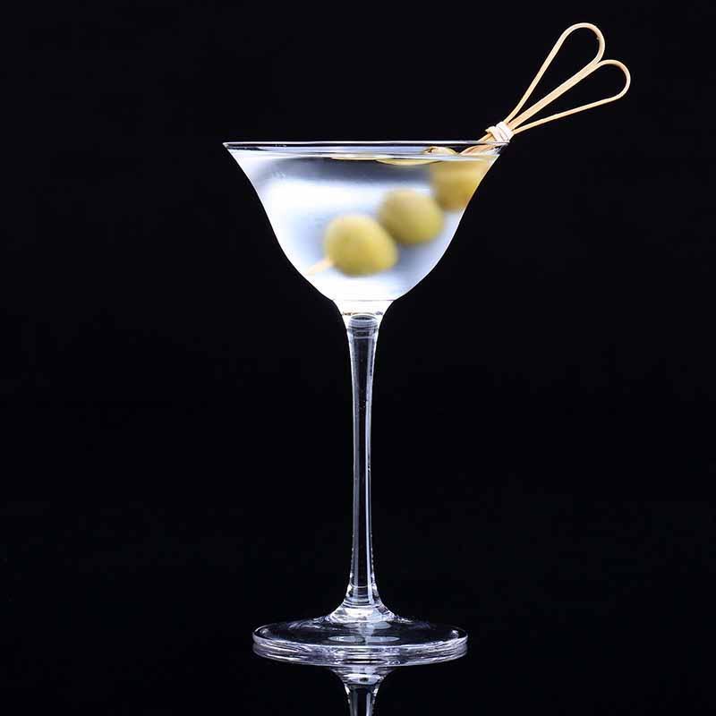Kimura 시리즈 무연 크리스탈 칵테일 안경 비행 접시 건식 마티니 유리 잔 주스 와인