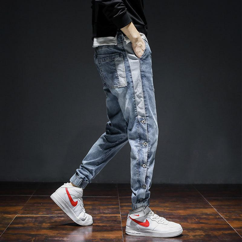 New Jeans in Spring and Autumn, Work Clothes, Korean Fashion, Harlan Leggings, Men's Casual Pants