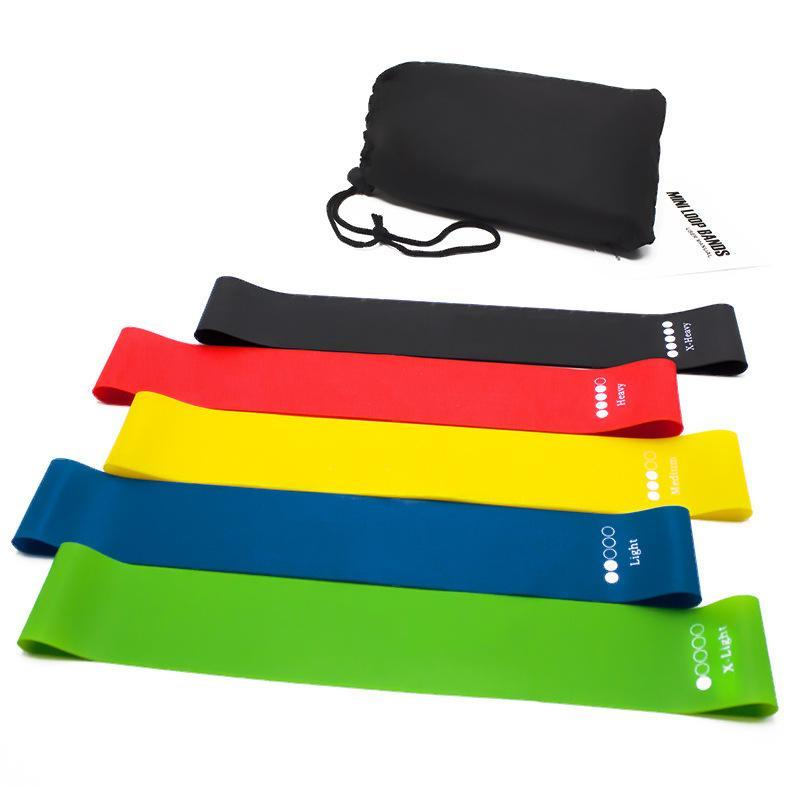 Rubber 30cm Resistance Bands Set Elastic Mini Resistence Band Sport Workout Yoga Pilates Exercise Fitness Equipment For Home Gym