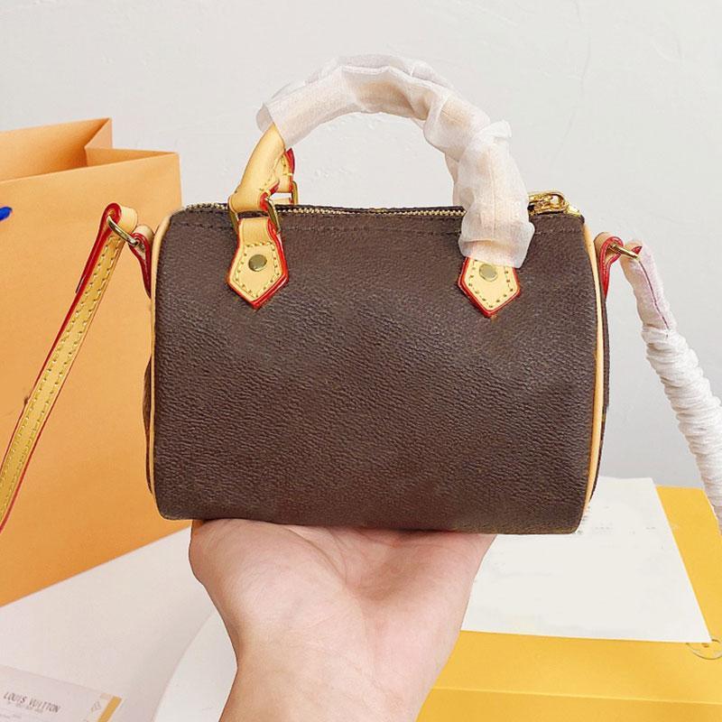 Sacs à main sacs à bandoulière sac d'oreiller sac véritable cuir brun en bronze matriciel de bronze patchwork lettre de bonne qualité oeuvre modèle classique modèle fermeture éclair