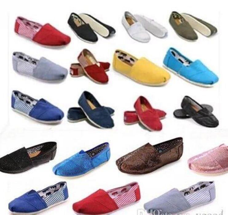 DORP Доставка Бренд Мужская Женская Повседневная Обувь сплошной холст, Ева Плоские Узорные полосы Любовные Блестящие Обувь Классические Обувь Холст