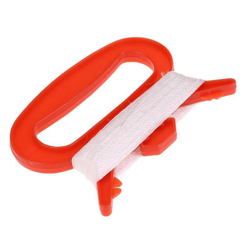 30 m aquilone linea D a forma di plastica in nylon di plastica all'aperto volare aquilone bobina stringa aquilone manico linea scheda linea volante DHD8243