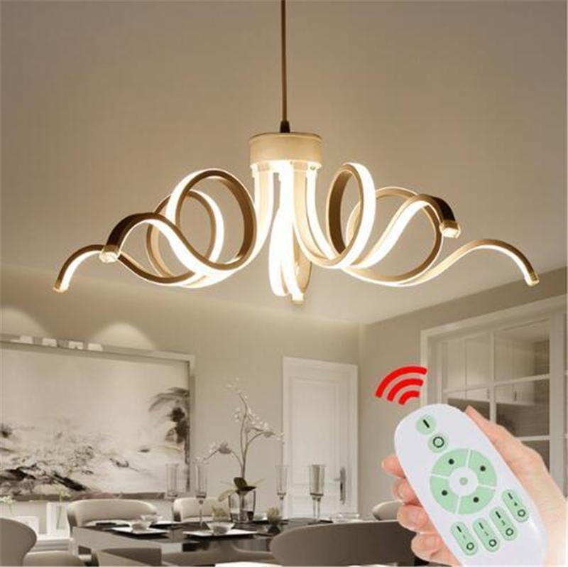 Современные люстры LED Lustres White Famcaras de Techo Luminaria Light Avize для ресторана кафе столовая комната промышленного дома