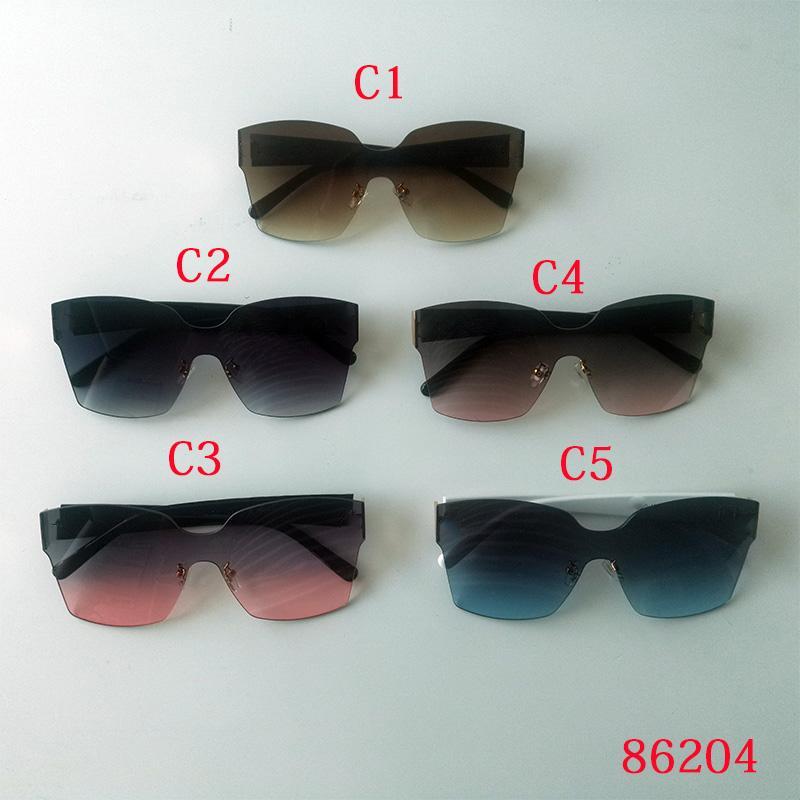 Top Hohe Qualität 5 Arten von Stil Mode Männer Frauen Sonnenbrille Square Sonnenbrille Anti UV UV400 Retro Gradient Farblinse Sonnenbrille Geschenke