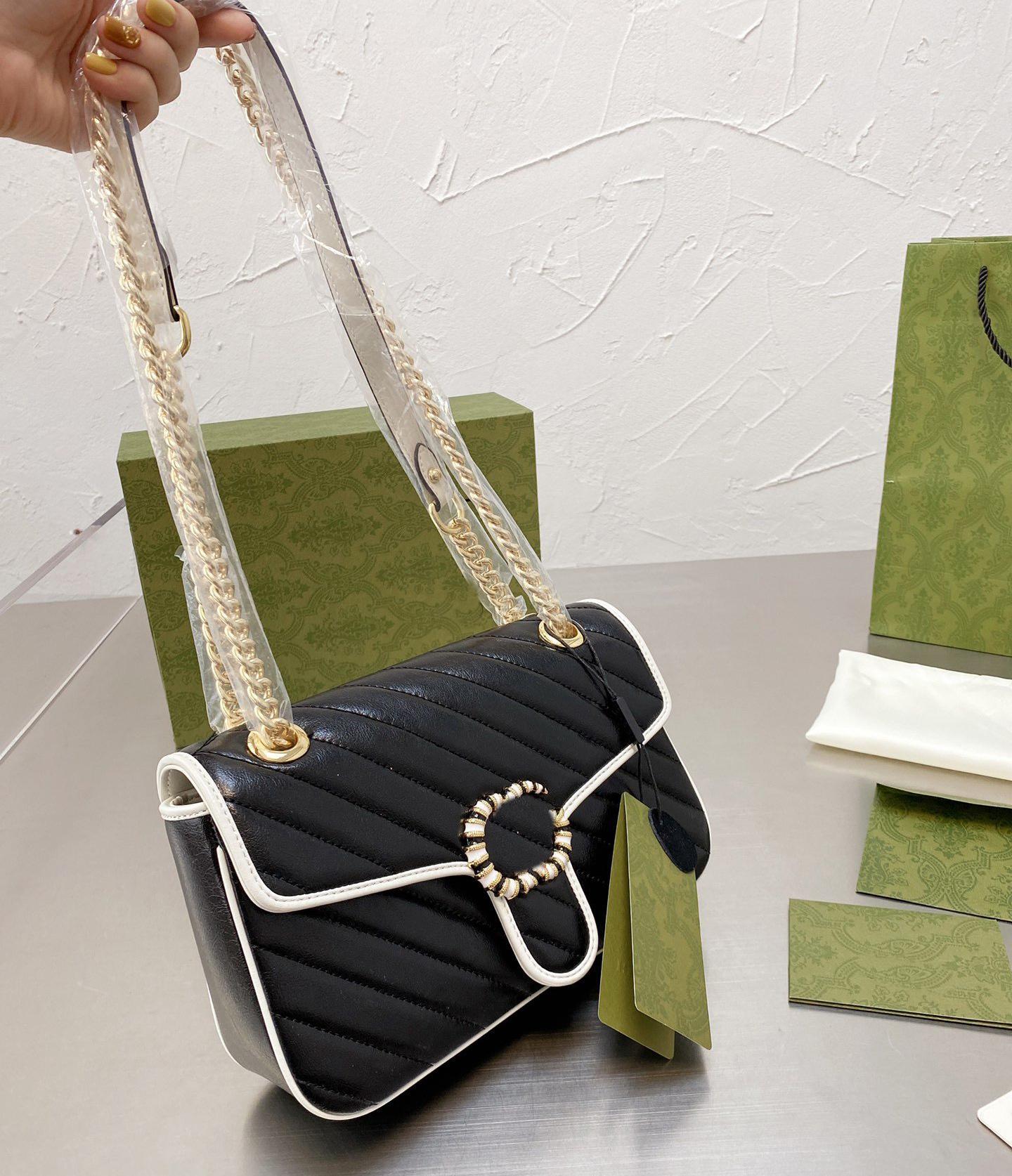 Designer Crossbody Tote Borsa a tracolla Messenger Handbag Portafoglio Sella borsa Lvlouis Zaino con logo GUCCI A68