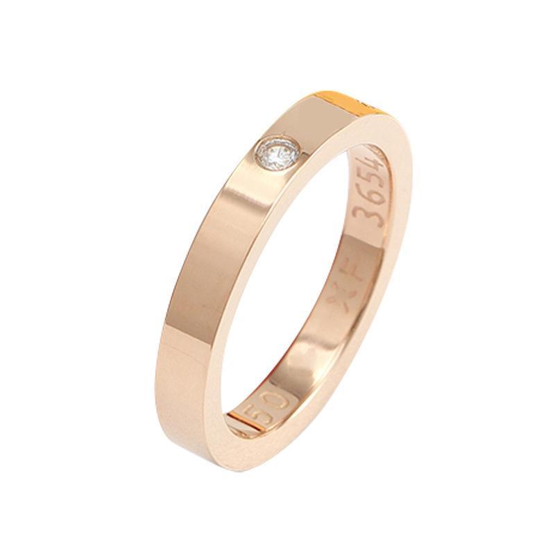 NO Box 3mm 4mm Acciaio in acciaio in acciaio in acciaio in argento Uomini e donne Anelli per unghie per gli amanti regalo di gioielli coppia