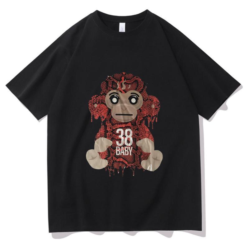 T-shirt da uomo Youngboy Mai rotto di nuovo hipster stampa t-shirt moda uomo tshirt harajuku graphic maglietta cartone animato anime unisex t shirt