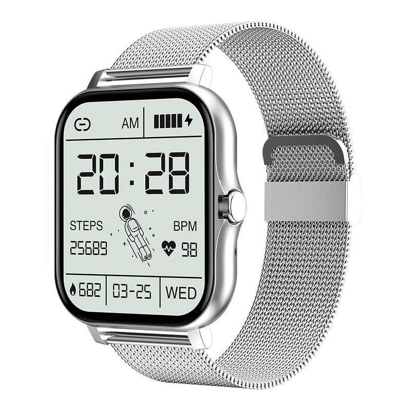 GT20 SmartWatch orologi intelligenti 1.69 pollici touch full bluetooth chiamata fai da te quadrante cardiofrequente fitness tracker cinturino braccialetto sportivo braccialetto PK IWO 13 Smart Watch Android ios