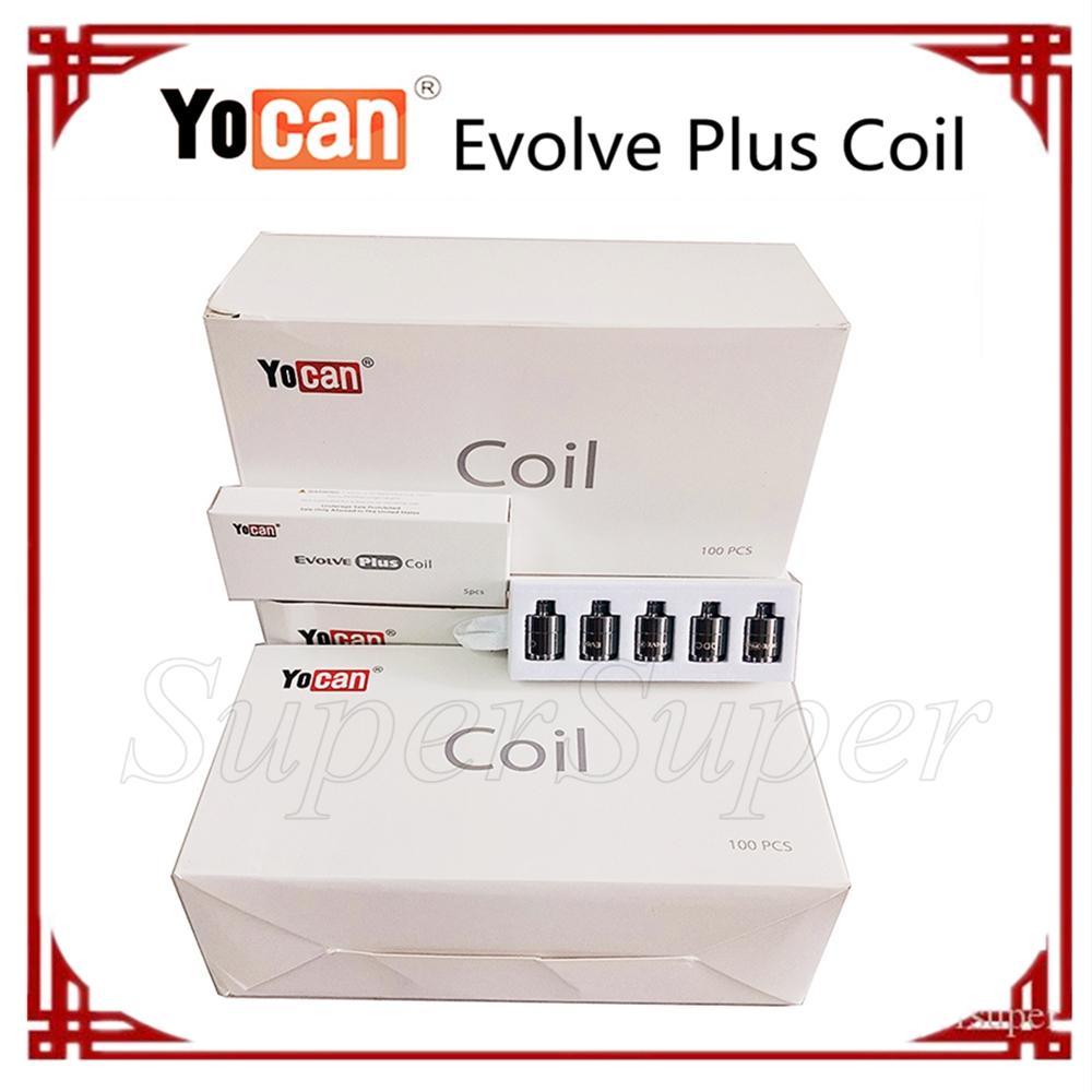 Yocan Evolve Plus катушки керамические кварцевые двойные сигареты катушки замена для испарителя DHL