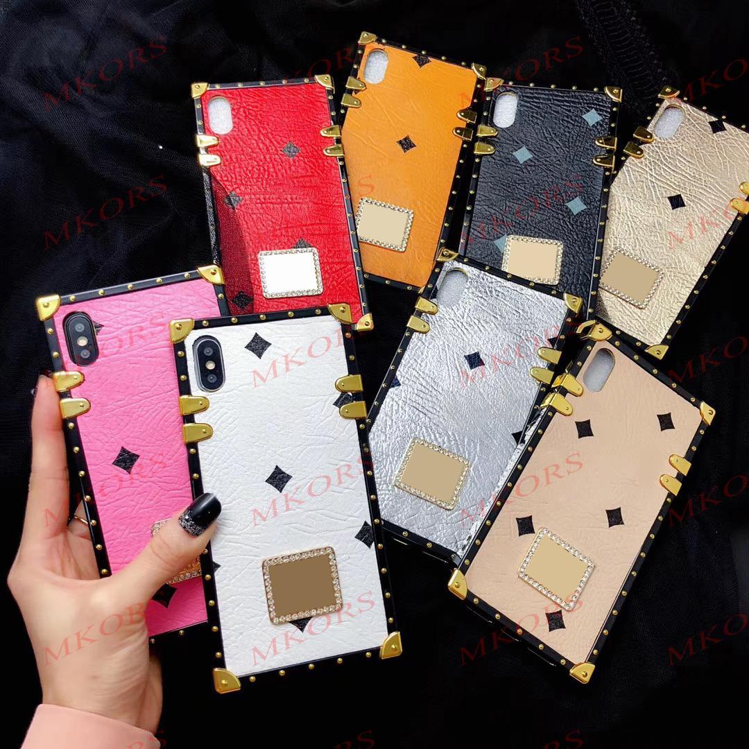 مصمم حالة الهاتف آيفون 12 ميني 12PRO 11 11PRO X XS MAX XR 8 7 6 6 ثانية زائد بو الجلود TPU الحالات غطاء ل xsmax الأزياء تظهر الصليب الجسم حزام الغلاف