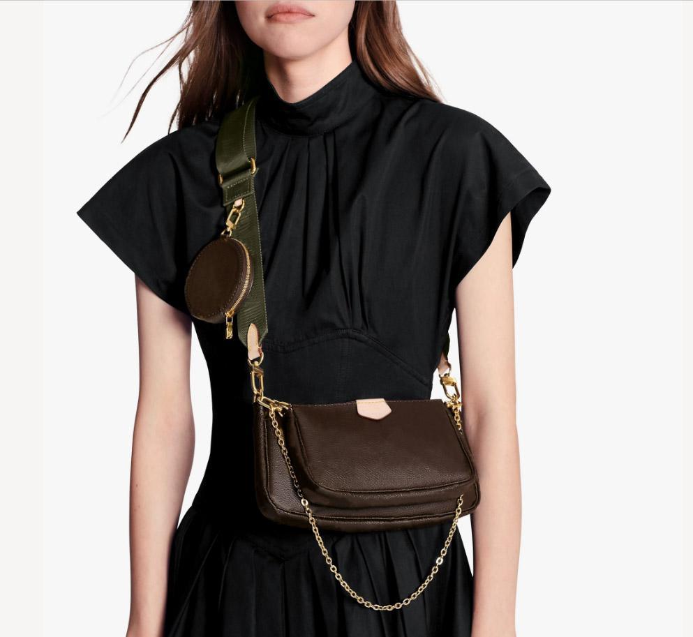 Çanta Kadın Omuz Çantası Moda Çok Pochette Accessoires Para Kılıfı Çiçek Tasarımcısı Markalar Çantalar Ve Çanta 3 Adet Set Crossbody Çanta