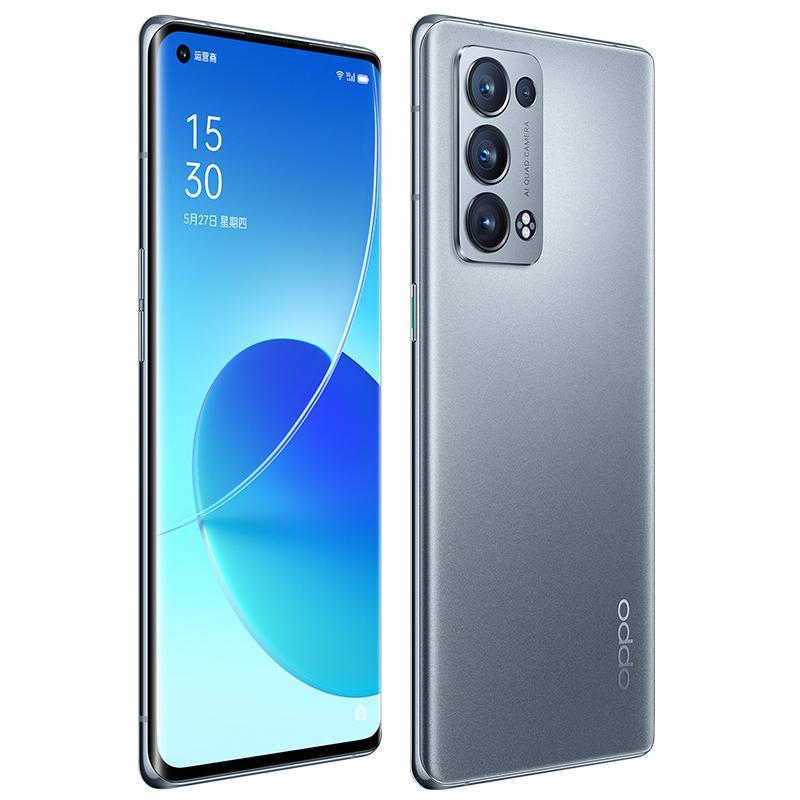 "Original OPPO Reno 6 Pro + Plus 5G Mobile Phone 8GB RAM 128GB ROM Snapdragon 870 Octa Core 50MP Android 6.55"" AMOLED Full Screen Fingerprint ID Face NFC Smart Cellphone"