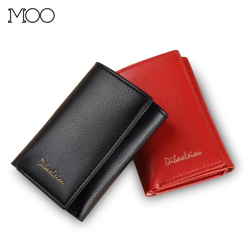 Tri-Fold Bendy Wallet Men Luxury Multi-Function Men's para Tarjetas Pareja Pequeñas Carteras Mujer Monedero Monedero Titular