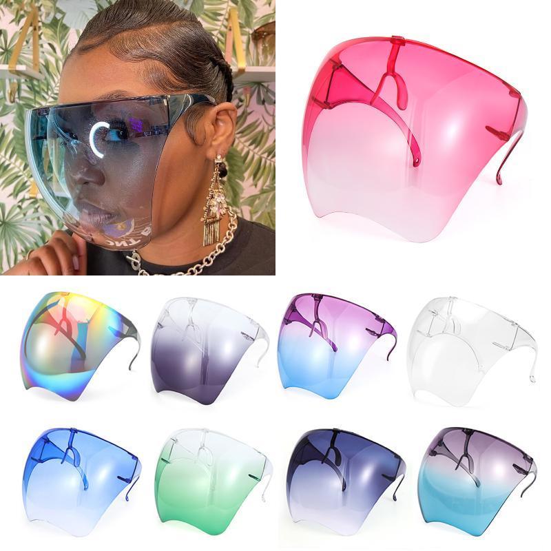Güneş Gözlüğü Boy Gözlük Koruyucu Tam Yüz Kapak Güvenlik Gözlük Anti-Sis Gözlükler Vizör