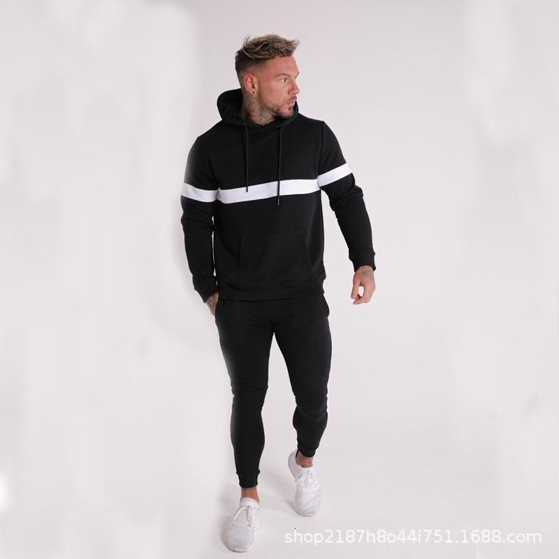 2010 nuevo músculo hermano moda marca deportes pantalones hombre con capucha con capucha de hombre