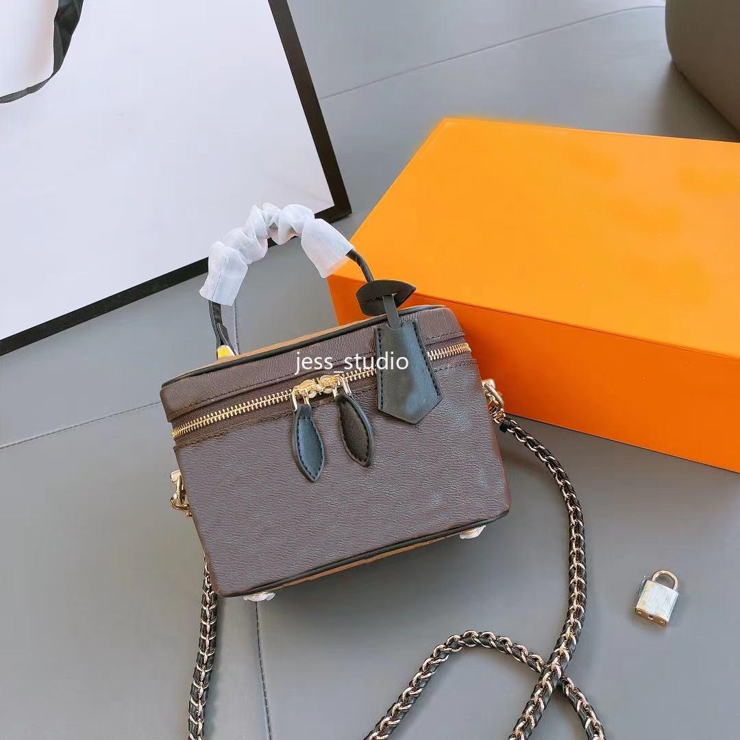 Bolsos de las señoras de la moda para las mujeres bolsas diagonales de un hombro de un hombro con cremallera de cuero de alta calidad billetera marrón amarillo